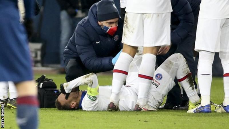 Neymar to miss Paris St-Germain's trip to Barcelona