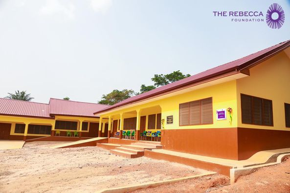 Adetim: Rebecca Foundation commissions Re-built school