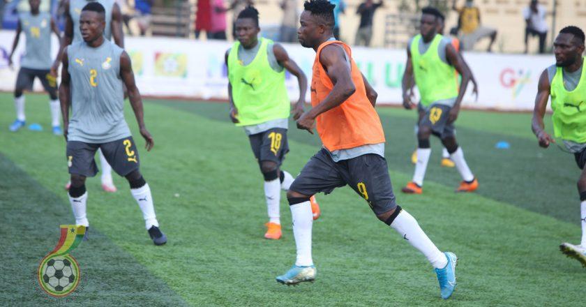 Twenty players open Black Stars training in Accra