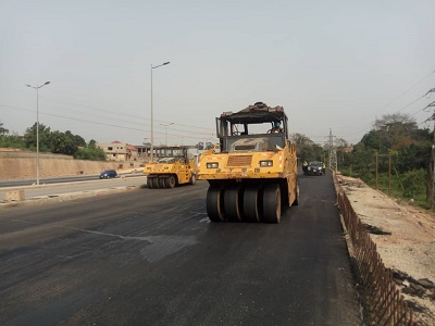 $84m Pokuase Interchange nears completion …project to be ready April