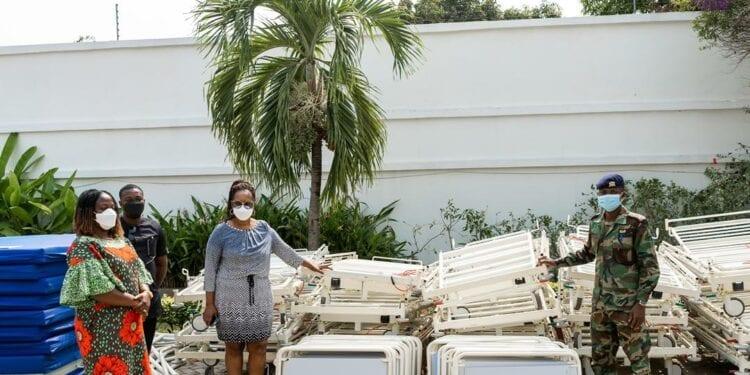 Rebecca Foundation donates beds to Korle- Bu, Ridge, 37 Military hospitals