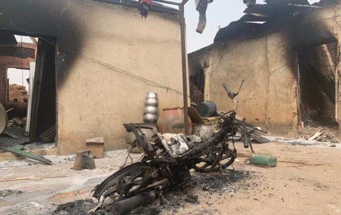 Tamale: 24 houses burnt in chieftaincy dispute