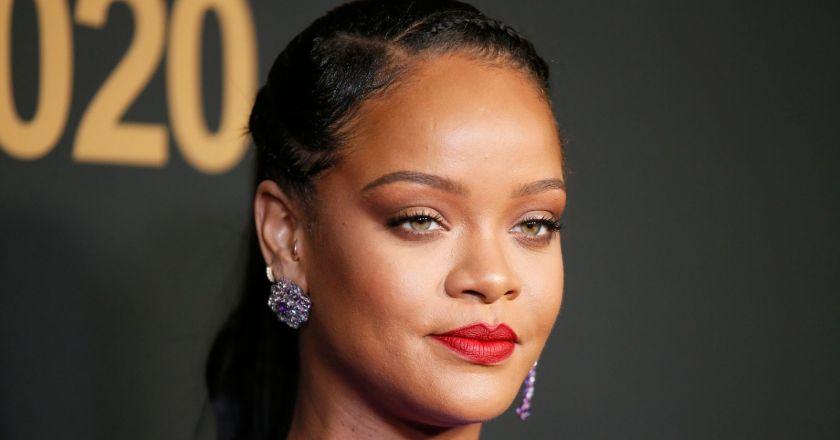 Rihanna backlash after singer poses topless for lingerie shoot wearing Ganesha necklace