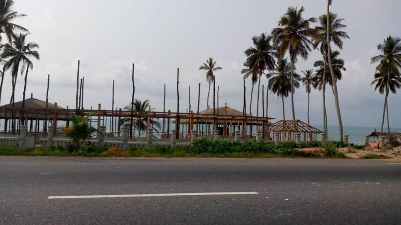 OLA-Elmina beachfront development counterproductive to sea defense project