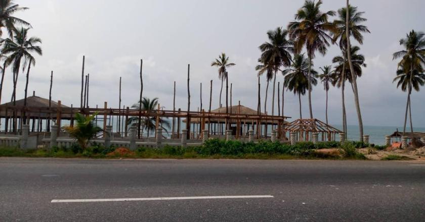 OLA-Elmina beachfront development counterproductive to sea defense project