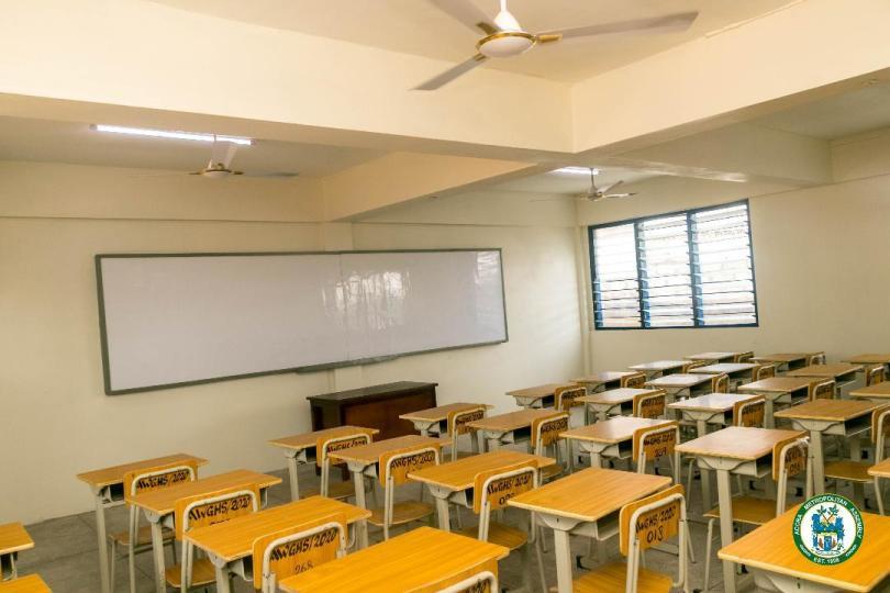 AMA hands over school to Accra Wesley Girls Senior High