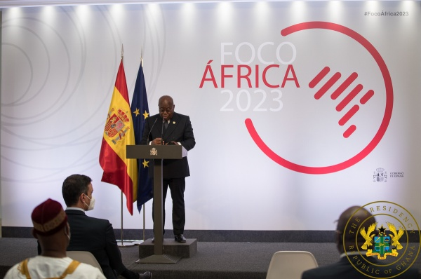 """Business Opportunities From AfCFTA Enormous"" – President Akufo-Addo To Spanish Gov't"