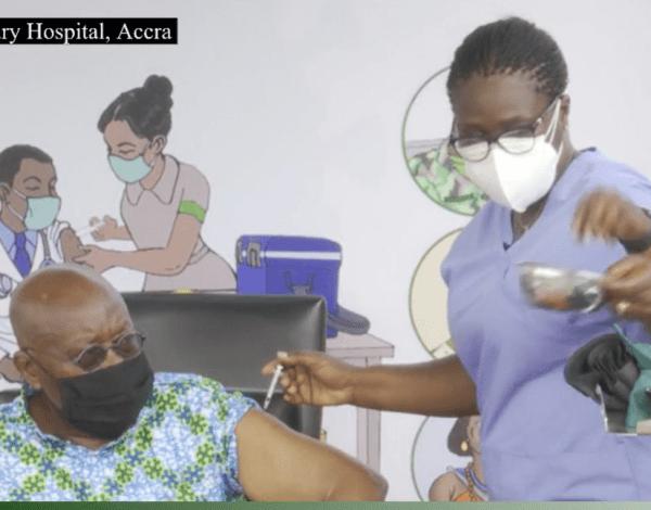 COVID-19: Akufo-Addo, Bawumia vaccinated