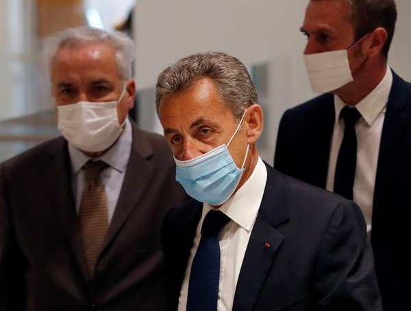 Former French president Sarkozy convicted of corruption, handed jail sentence
