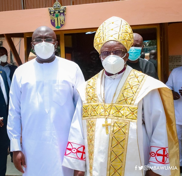 Your Kind Is The Kind Of Political Leadership We Want As A Nation – Anglican Bishop To VP Bawumia