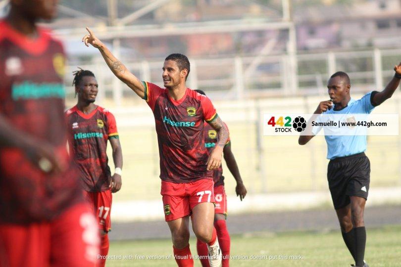 Gama, Vinicius on target as Asante Kotoko thrash Bechem United