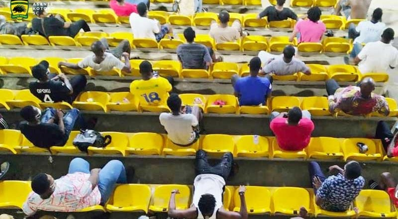 GFA thank President Akufo Addo for lifting ban to allow fans at match venues