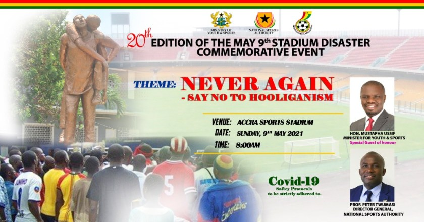 Clubs to observe minute's silence in honour of May 9 Stadium Disaster victims