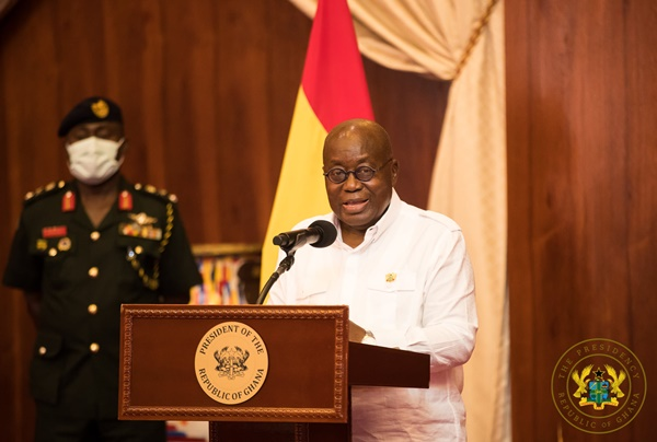 """""""Critiquing the work of  journalists not an attack on media freedom"""" – Pres Akufo-Addo"""