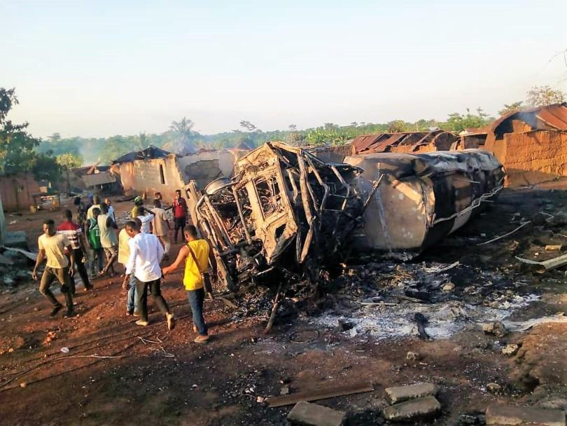 Police investigate fuel tanker accident resulting in three deaths