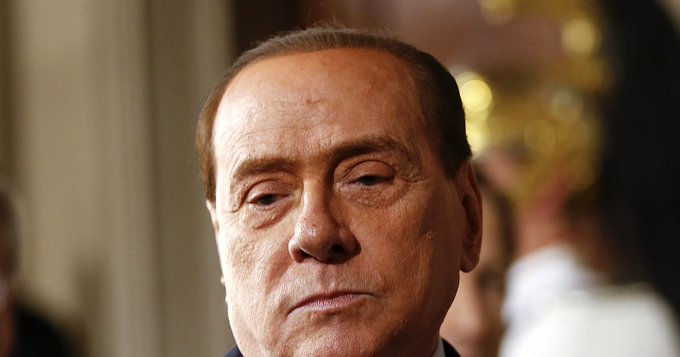 Former Italian PM Berlusconi admitted to hospital – source