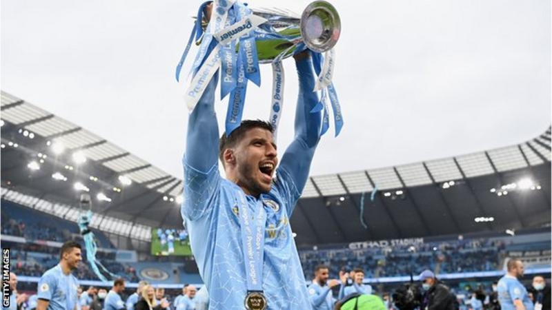 Ruben Dias: Man City defender is Premier League player of the season