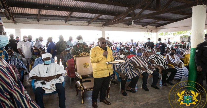 """""""Ghana Lucky To Have You As President In COVID-19 Era"""" – Elders of Mamprusi"""
