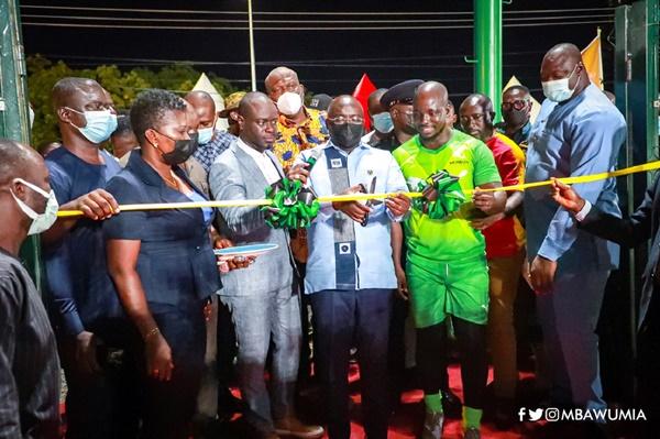 VP Bawumia Commissions Ultra-modern Adjiringanor Astro Turf