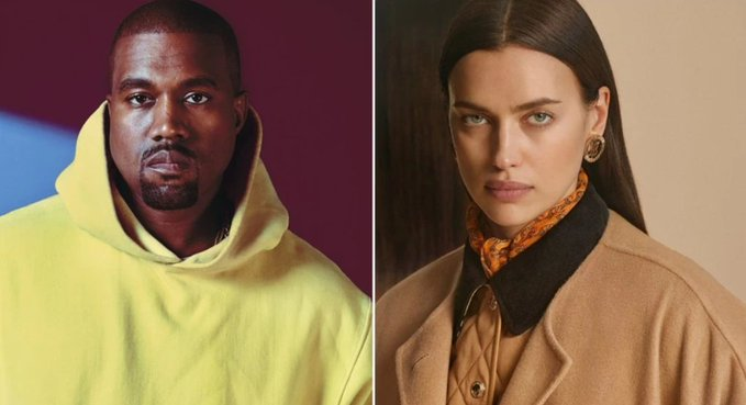 Kanye West spotted with model Irina Shayk in France amid dating rumours