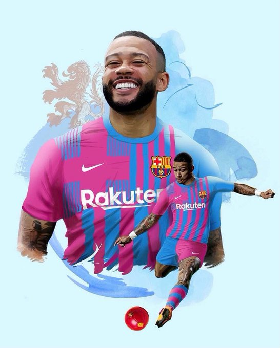Barcelona confirms the signing of Memphis Depay
