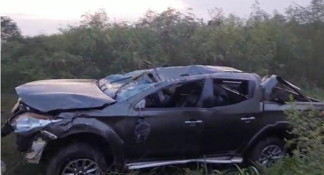 4 in critical condition after a car crash at Gomoa Okyereko