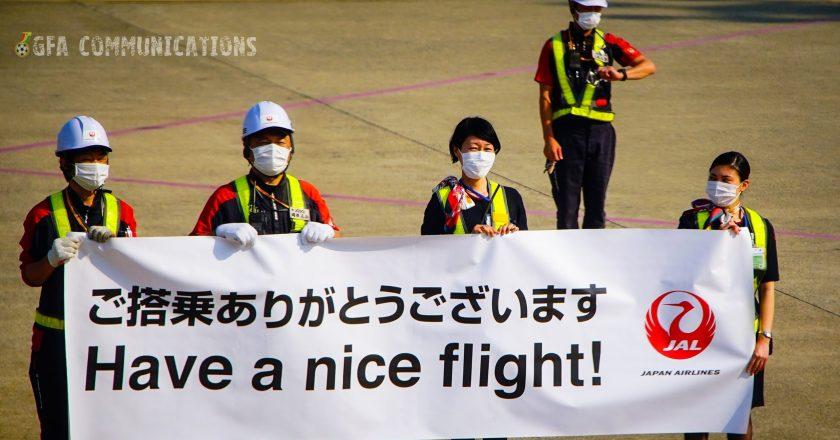 Black Meteors depart Japan for Korea