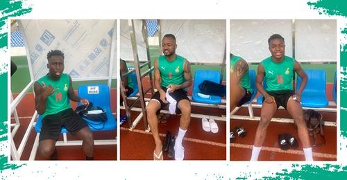 Jordan, Djiku, Owusu, Baba and Fatawu join Star camp in Cape Coast