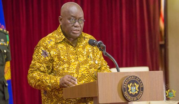President Akufo Addo charges lands commission to be rapid in land registration