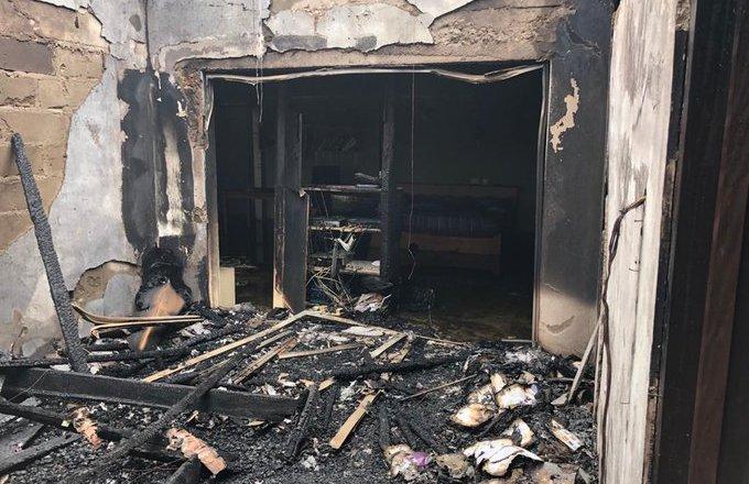 Fire ravages Zenith University [Photos]