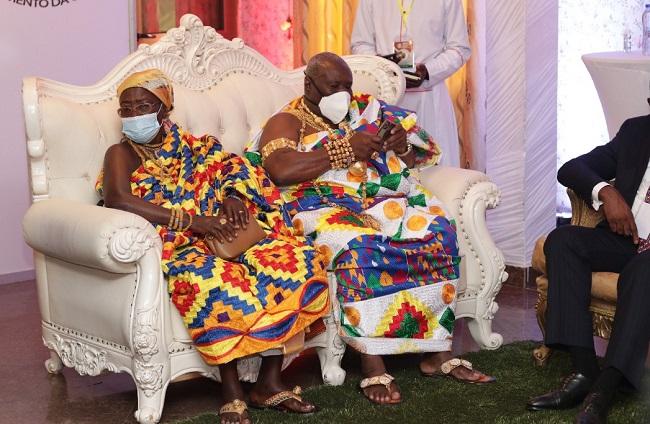 Effutu Omanhene Hails Afenyo-Markin For His Caring Spirit For Effutu Constituents