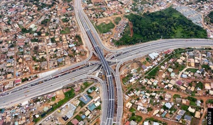 President Akufo-Addo Commissions 4-tier Pokuase Interchange; 1st Of Its Kind In West Africa
