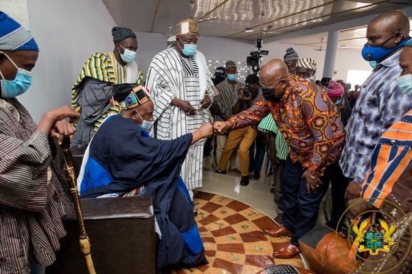 President Akufo-Addo Apologises To Residents Of Wa Over Military Brutalities