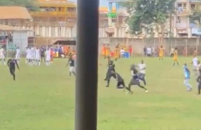 'BA United fans pulled and squeezed my testicles simultaneously' – Referee Maxwell Hanson narrates ordeal