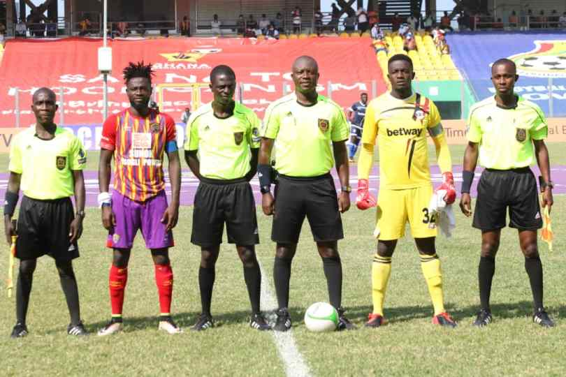 Hearts, Liberty referee Obed Kwegyah Danquah charged by the GFA