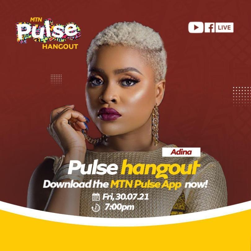 Adina promises captivating performance on Pulse Hangout