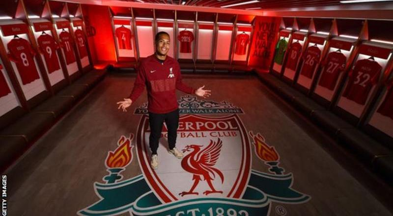 Virgil van Dijk: Liverpool defender signs deal until 2025