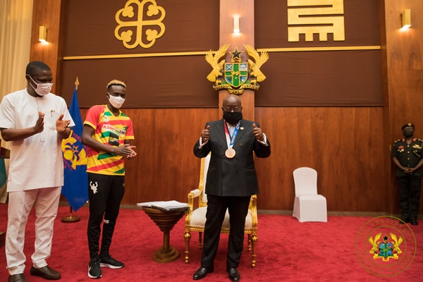 """""""Olympic feat should spur us on to greater heights"""" – President Akufo-addo tells GOC"""