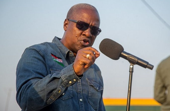 NPP has no intention of fighting corruption; vote them out in 2024 – Mahama urge Ghanaians