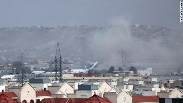 Kabul airport blast: Explosion outside Hamid Karzai International Airport
