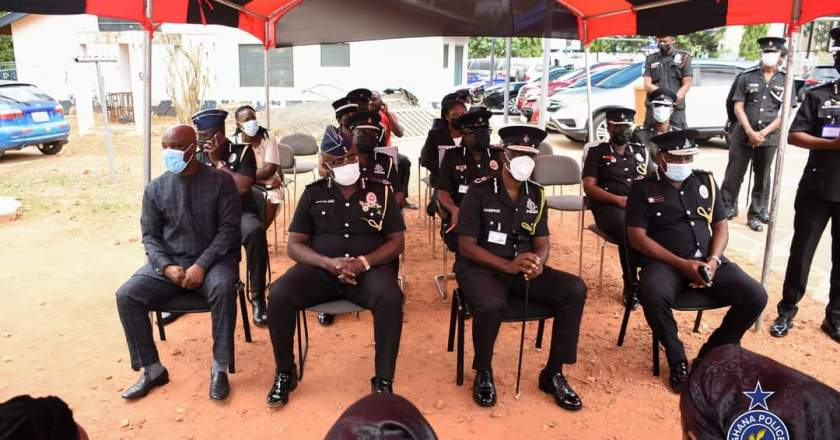 Police Commiserates with Bereaved Family of the late Chief Inspector Abednego Kaakyire