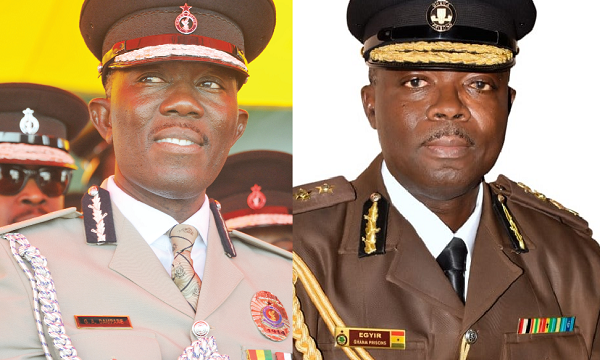New IGP Dampare and new DDGP Egyir begin work