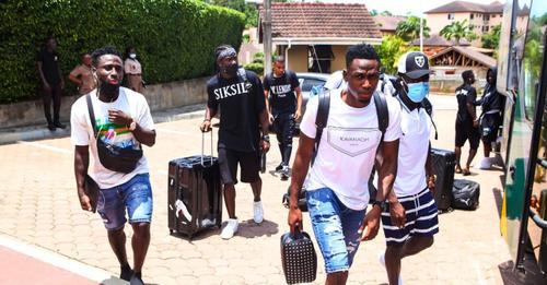 Black Stars arrive in Cape Coast for Ethiopia clash