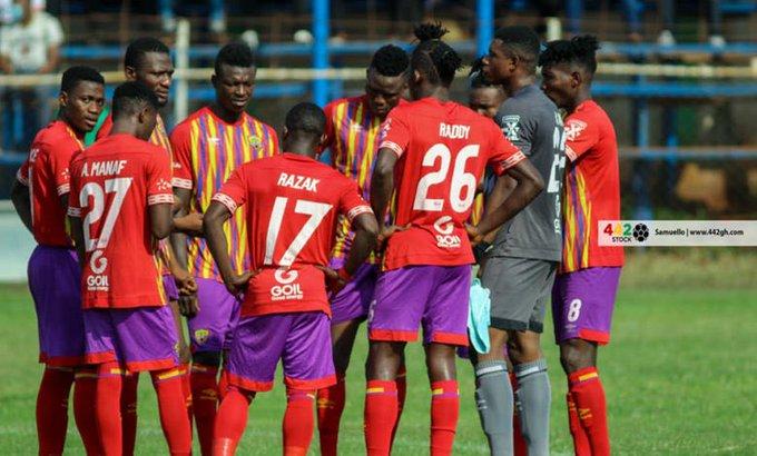 Hearts of Oak plot C I Kamsar fall in Accra