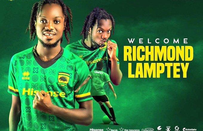 Richmond Lamptey joins Asante Kotoko
