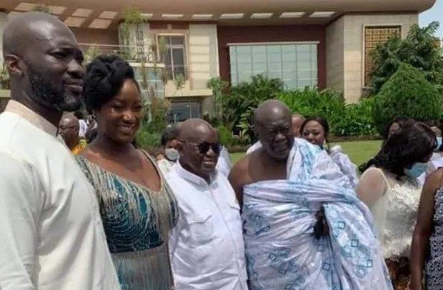 Kofi Jumah's Son Marries Akufo-Addo's Daughter