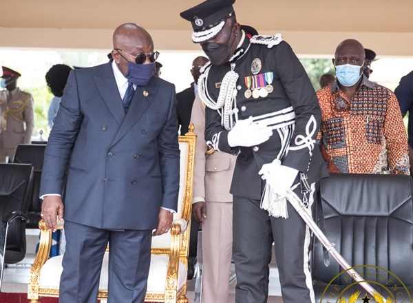 President Akufo-Addo reiterates support for Dampare; Pledges To Deal Decisively With Criminals