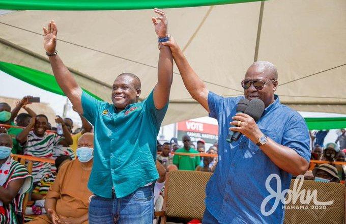 Gabby Otchere-Darko 'endorses' Sam George as NDC's next flagbearer