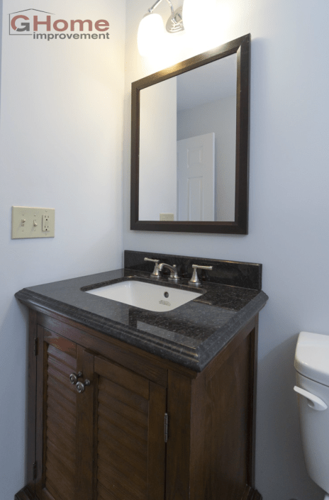 2 Small Bathroom Remodeling Projects - Dublin, Ohio - Home ...