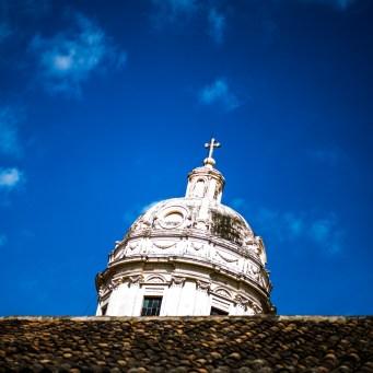 Turm der Kathedrale von Granada